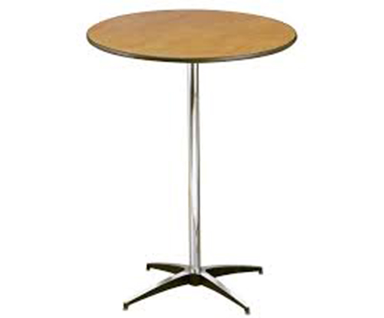 """30"""" Round High Top Table"""